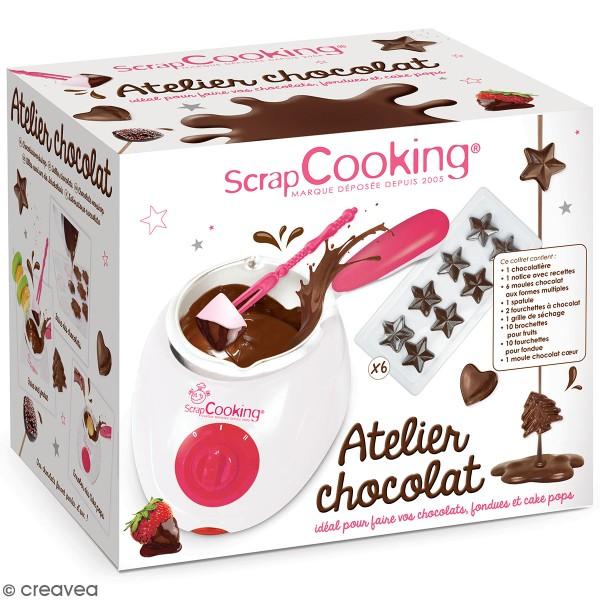 Fondue à chocolat ScrapCooking - Fourni avec accessoires - Photo n°1