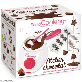 Fondue à chocolat ScrapCooking - Fourni avec accessoires