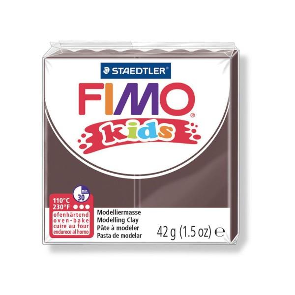 FIMO Kids 42g - les Enfants de la pâte à modeler Marron, des Fournitures d'Artisanat, Argile Polymèr - Photo n°1