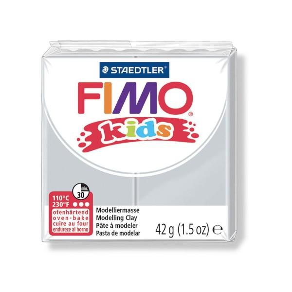 FIMO Kids 42g - Gris clair les Enfants de la pâte à modeler, les Enfants de Don, de l'Argile Polymèr - Photo n°1