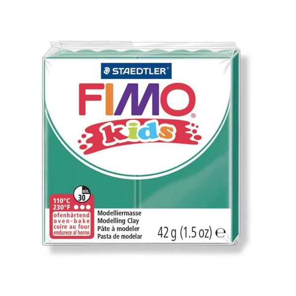 FIMO Kids 42g - Bébé en pâte à modeler Verte, des Fournitures d'Artisanat, Argile Polymère, Argile d - Photo n°1