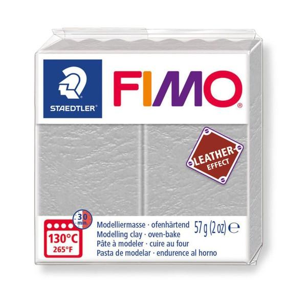 FIMO Effet Cuir Gris-Gris, De L'Artisanat, De L'Art, De L'Argile Polymère, Argile À La Main, De L'Ar - Photo n°1