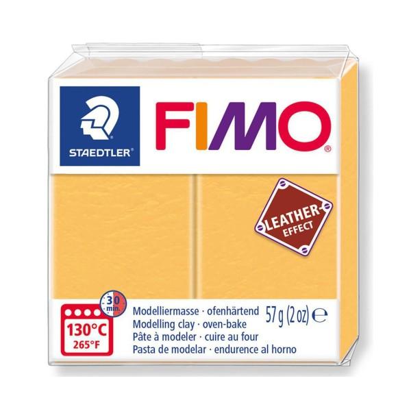 FIMO Effet Cuir Sharan Jaune, De L'Artisanat, De L'Art, De L'Argile Polymère, Argile À La Main, De L - Photo n°1