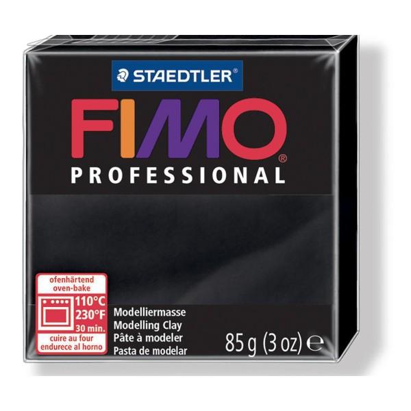 FIMO Professional 85g de Noir, de Sécurité Alimentaire, de l'Argile Tutoriel, Argile, Limon, Argile, - Photo n°1
