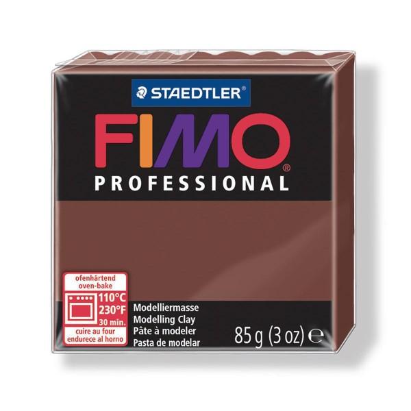 FIMO Professional 85g de Chocolat, de l'Argile Tutoriel, Argile, Limon, Argile, de l'Artisanat, le L - Photo n°1
