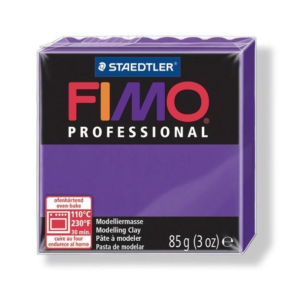 FIMO Professional 85g de Violet, Boîte-Cadeau, de l'Argile Tutoriel, Argile, Limon, Argile, de l'Art - Photo n°1