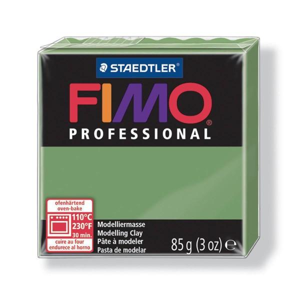 FIMO Professional 85g de Feuille Verte, l'Argile Tutoriel, Argile, Limon, Argile, de l'Artisanat, le - Photo n°1