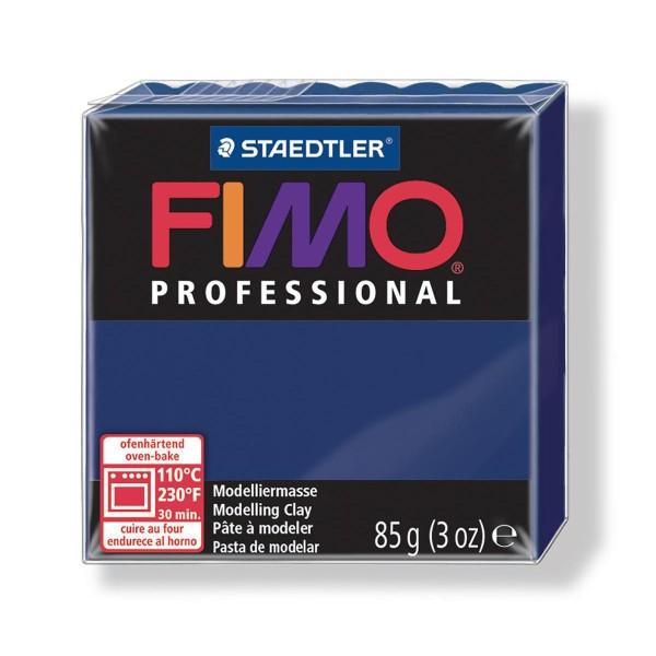 FIMO Professional 85g de Bleu Marine, de l'Argile Tutoriel, Argile, Limon, Argile, de l'Artisanat, l - Photo n°1