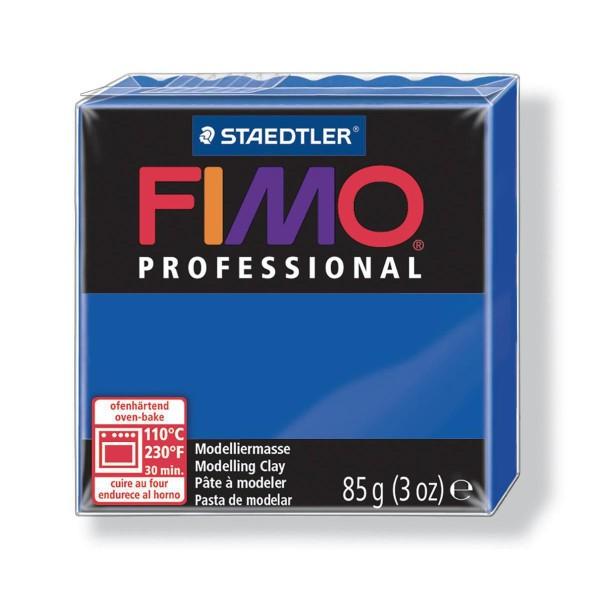 FIMO Professional 85g de Bleu Outremer, de Sécurité Alimentaire, de l'Argile Limon, Argile, de l'Art - Photo n°1