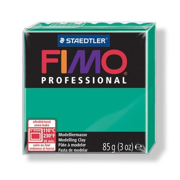 FIMO Professional 85g Vert (de base), de l'Argile Tutoriel, Argile, Limon, Argile, de l'Artisanat, l - Photo n°1