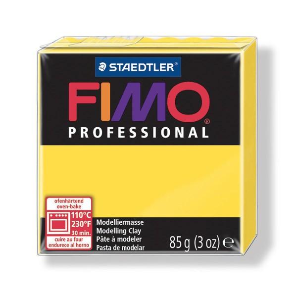 FIMO Professional 85g Jaune (de base), de l'Argile Tutoriel, Argile, Limon, Argile, de l'Artisanat, - Photo n°1