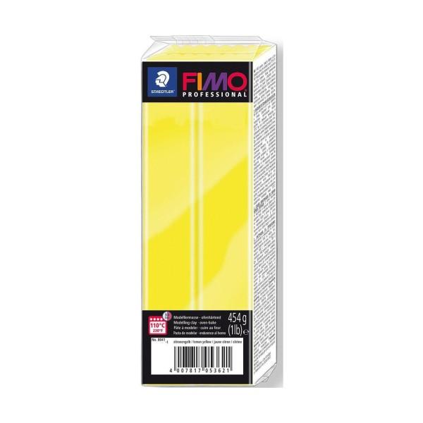 FIMO Professional Citron 454g Bloc d'Argile Tutoriel, Argile, Limon, Argile, de l'Artisanat, le Livr - Photo n°1