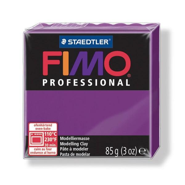 FIMO Professional 85g de Fuchsia, de l'Argile Tutoriel, Argile, Limon, Argile, de l'Artisanat, le Li - Photo n°1