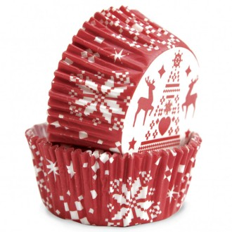 Caissettes en papier - Noël - 36 pcs