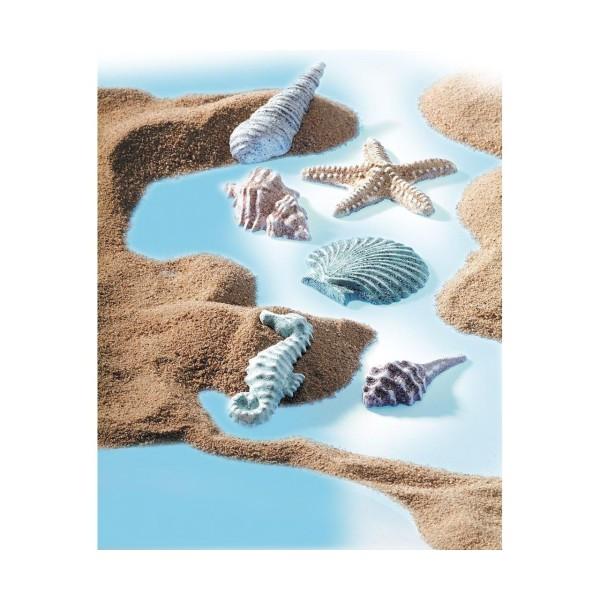 FIMO Moule En Silicone - Coquilles De Mer, De L'Argile De L'Artisanat, De L'Argile Des Arrangements, - Photo n°2
