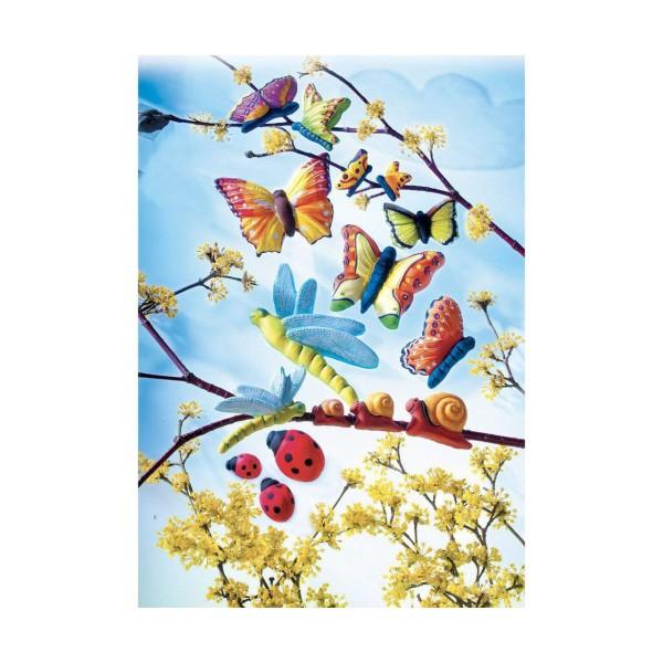 FIMO Moule En Silicone - Papillons, De L'Argile De L'Artisanat, De L'Argile Des Arrangements, De L'A - Photo n°2