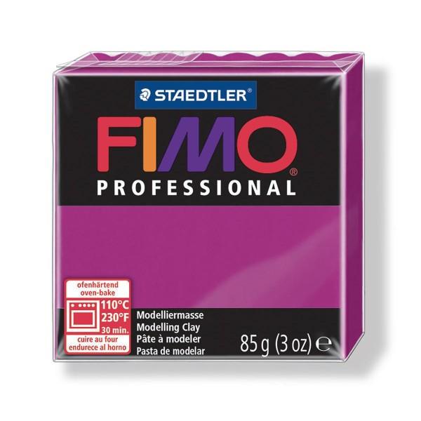 FIMO Professional 85g Magenta (de base), la salubrité des Aliments, de l'Argile Limon, Argile, de l' - Photo n°1