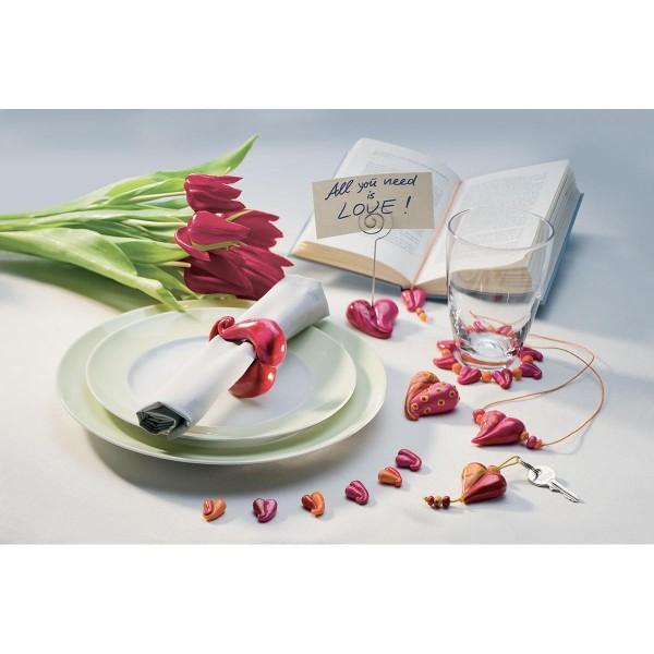 FIMO Soft Rouge 57 octies, Bricolage Miniatures, Bricolage à la Main, de l'Artisanat Fournitures, de - Photo n°4