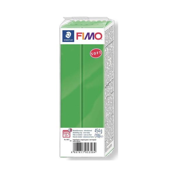 FIMO Soft Vert 454g Bloc, Bricolage Miniatures, Bricolage à la Main, de l'Artisanat Fournitures, de - Photo n°1