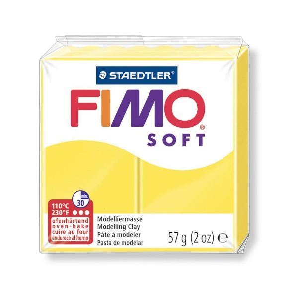 FIMO Soft Jaune 57 octies, Bricolage Miniatures, Bricolage à la Main, de l'Artisanat Fournitures, de - Photo n°1