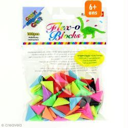 Recharge cônes Plastique Origami Blocks - 100 pcs