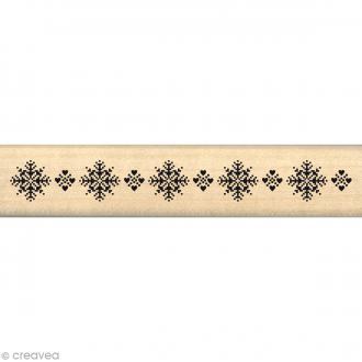 Tampon Noël - Fantaisies Nordiques - Galon floconné - 2 x 10 cm