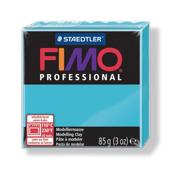 FIMO Professional 85g de Turquoise, de l'Argile Tutoriel, Argile, Limon, Argile, de l'Artisanat, le - Photo n°1