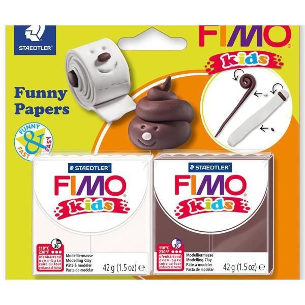 FIMO Kids Jeu Drôle De Papier, Bricolage À La Main, Des Fournitures D'Artisanat, Argile Polymère, Ar - Photo n°1