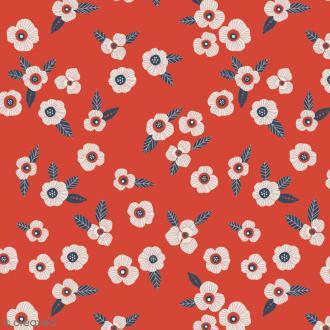 Tissu Atelier Brunette Mini Labo - Garance - Par 10 cm (sur mesure)