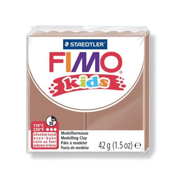 FIMO Kids 42g - Brun, les Enfants de la pâte à modeler, Argile Polymère, Argile de l'Artisanat, Débu - Photo n°1