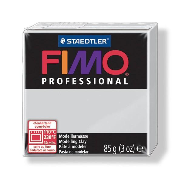 FIMO Professional 85g Dauphin Gris, de l'Argile Tutoriel, Argile, Limon, Argile, de l'Artisanat, le - Photo n°1