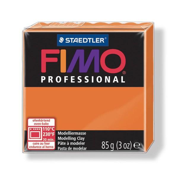 FIMO Professional 85g Orange, Boîte-Cadeau, de l'Argile Tutoriel, Argile, Limon, Argile, de l'Artisa - Photo n°1