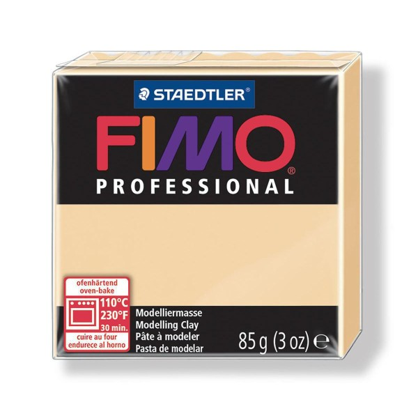 FIMO Professional 85g de Champagne, de l'Argile Tutoriel, Argile, Limon, Argile, de l'Artisanat, le - Photo n°1
