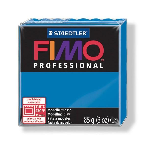 FIMO Professional 85g Bleu (de base), de l'Argile Tutoriel, Argile, Limon, Argile, de l'Artisanat, l - Photo n°1