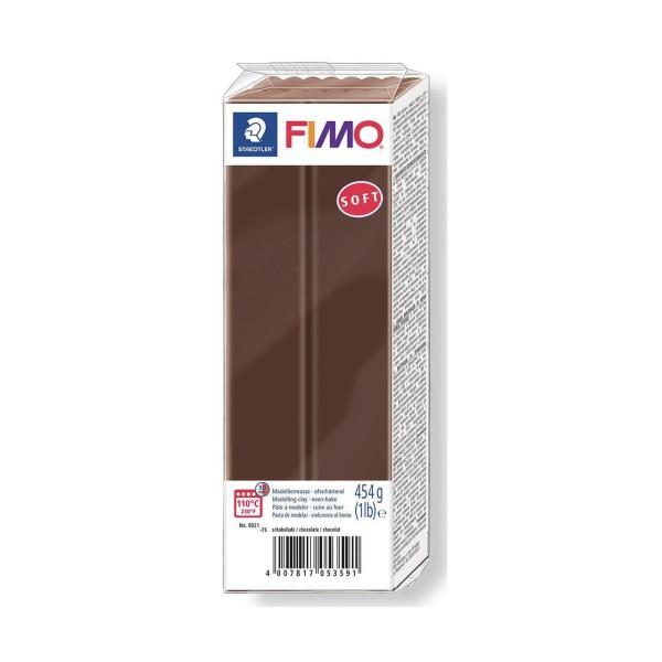 FIMO Soft Chocolat 454g Bloc, Projets de Bricolage, Bricolage à la Main, de l'Artisanat Fournitures, - Photo n°1