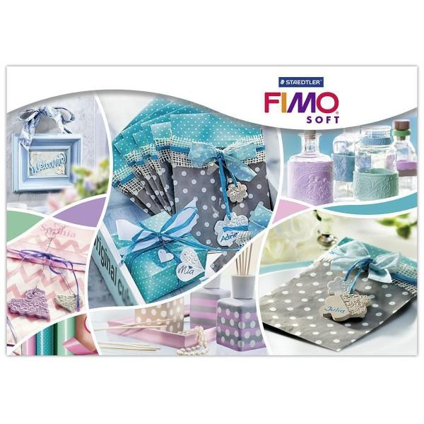 FIMO Soft de Noël Rouge 57 octies, Bricolage Miniatures, Bricolage à la Main, de l'Artisanat Fournit - Photo n°4