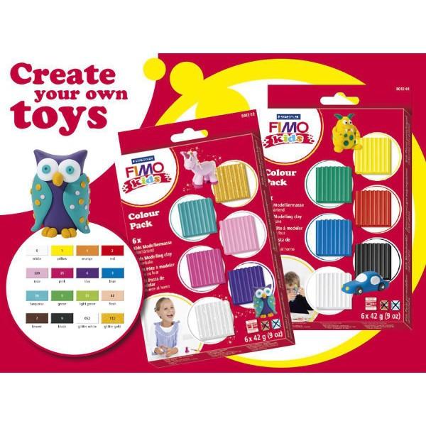 FIMO Kids Set De Base, Les Enfants De Don, Bricolage À La Main, Des Fournitures D'Artisanat, Argile - Photo n°2