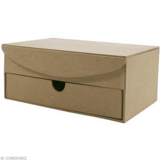 Boîte à bijoux à compartiments - 19 x 12,5 cm