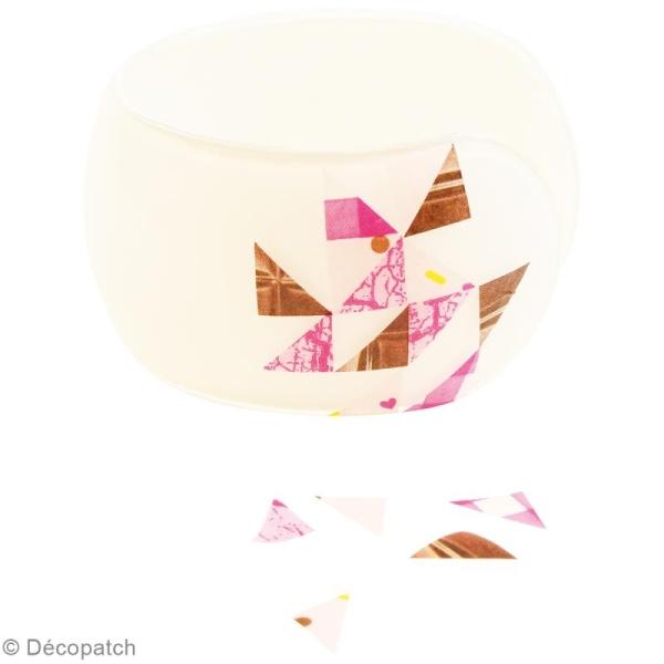 Bracelet à décorer Décopatch - 6,3 cm - Photo n°3