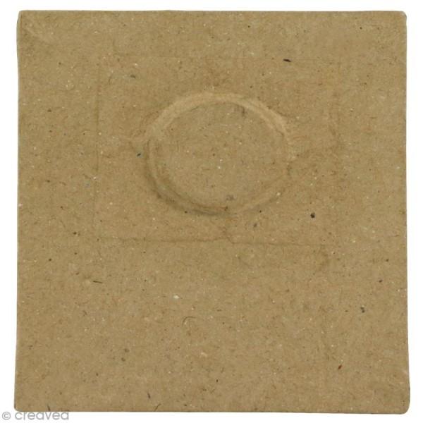Cadre aimanté en papier mâché - 9 x 7,5 cm - Photo n°2