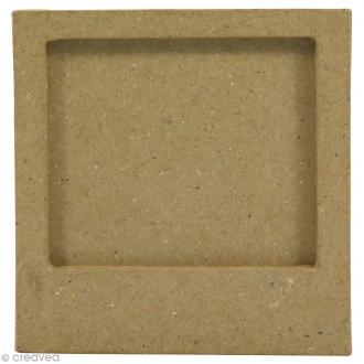 Cadre aimanté en papier mâché - 9 x 7,5 cm