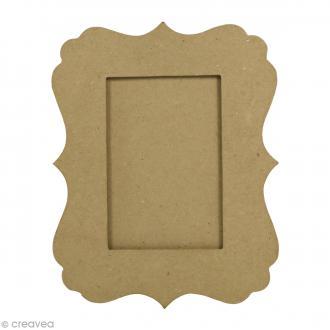 Cadre feston en papier mâché - 25 x 20 cm