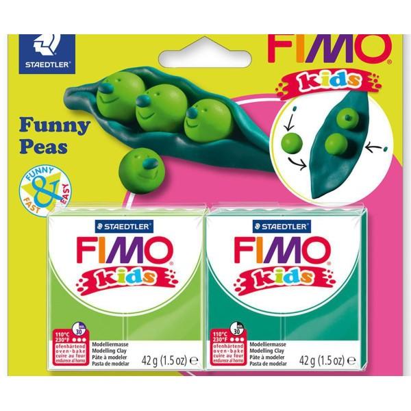 FIMO Kids Drôle Hrášek Ensemble, Bricolage À La Main, Des Fournitures D'Artisanat, Argile Polymère, - Photo n°1