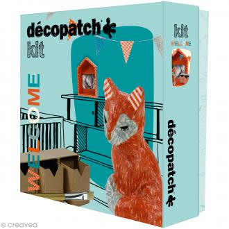 Kit créatif Welcome Décopatch - Renard