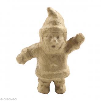 Père Noël en papier mâché - 9,5 cm