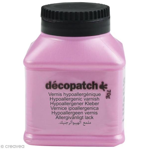 Vernis hypoallergénique Décopatch - 70 g - Photo n°1