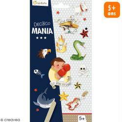 Transfert Décalco Mania - Badboy - 2 planches de 19 x 10,2 cm