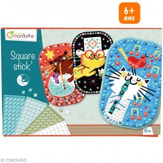 Boîte Square stick' Mosaïque - 6 ans et +