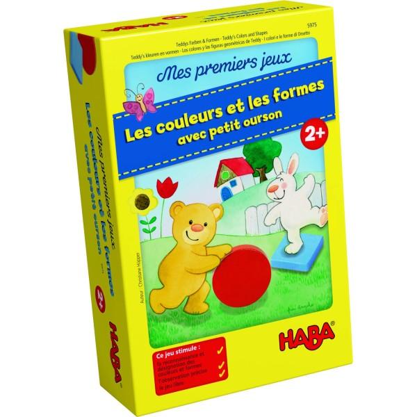 Premiers jeux couleurs et formes petit ourson - Photo n°1