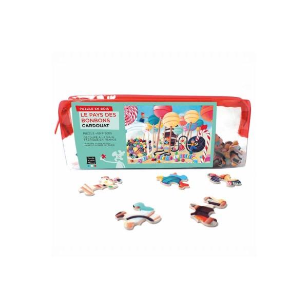 Puzzle MW Le pays des bonbons 50p - Photo n°1